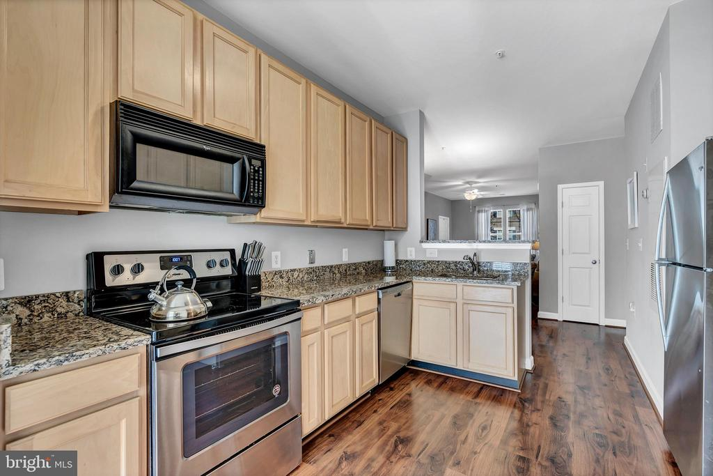 Loads of cabinets and attractive granite counters - 42509 HOLLYHOCK TER, BRAMBLETON
