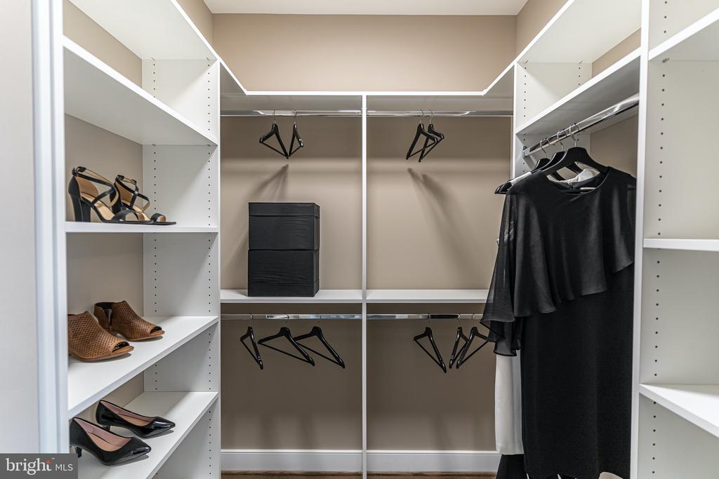 Owners Suite one of two closets - 1119 E ABINGDON, ALEXANDRIA