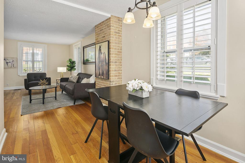 Living Room/Dining Room - 4634 31ST RD S, ARLINGTON