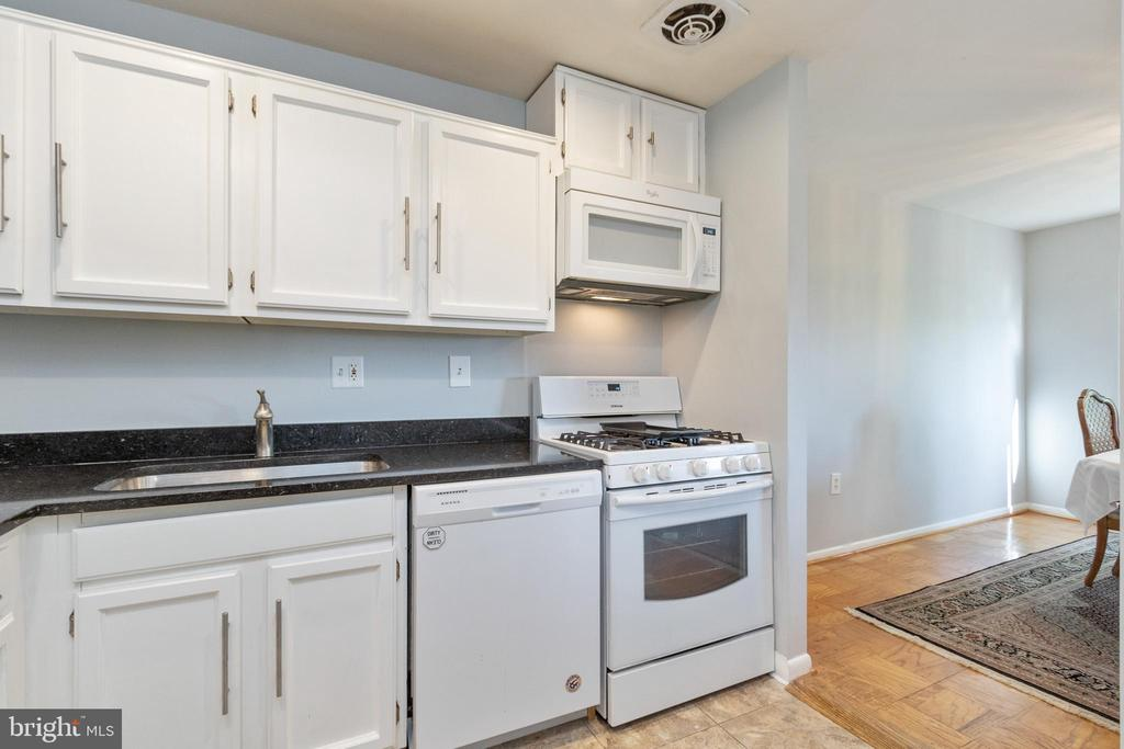 Bright Kitchen new flooring and countertop - 200 N MAPLE AVE #607, FALLS CHURCH