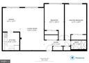 Floorplan of unit 607 - 200 N MAPLE AVE #607, FALLS CHURCH