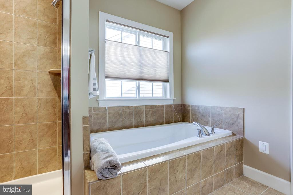 Spa-like Tub  adjacent to Shower - 100 PEARL ST, HERNDON