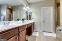 Primary Bathroom with Two Sinks/Vanities - 100 PEARL ST, HERNDON