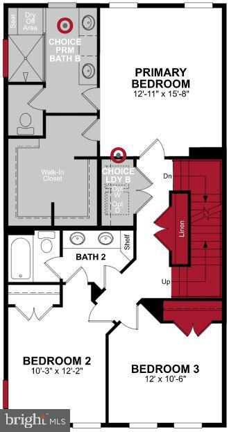 Third Level Floor Plan - 17645 FALCON HEIGHTS ST, DUMFRIES