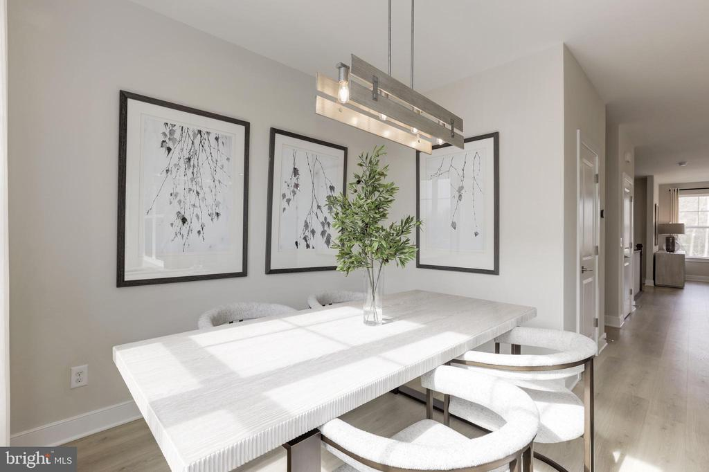 Breakfast Room - 17645 FALCON HEIGHTS ST, DUMFRIES