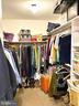 Walk-in Closet with Built-ins Wood Shelves - 11798 TARGET CT, WOODBRIDGE