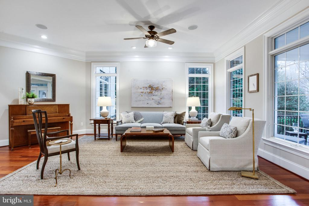 Formal Living Room - 10464 SPRINGVALE MEADOW LN, GREAT FALLS