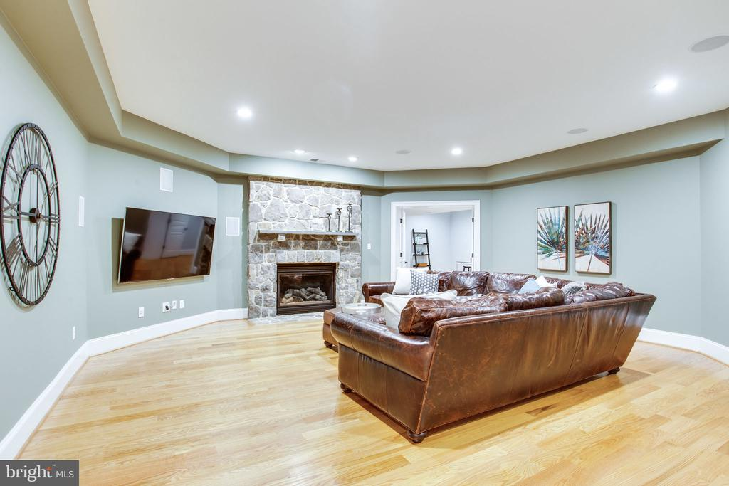 Lower Level Family Room - 10464 SPRINGVALE MEADOW LN, GREAT FALLS