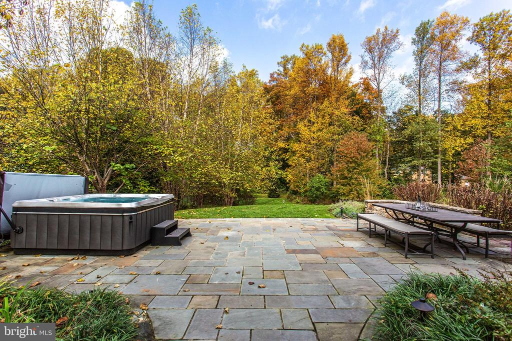 Patio perfect for al-fresco dining - 10464 SPRINGVALE MEADOW LN, GREAT FALLS