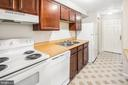 Plenty of counter and cabinet space - 820 HEATHER RIDGE DR #21J, FREDERICK