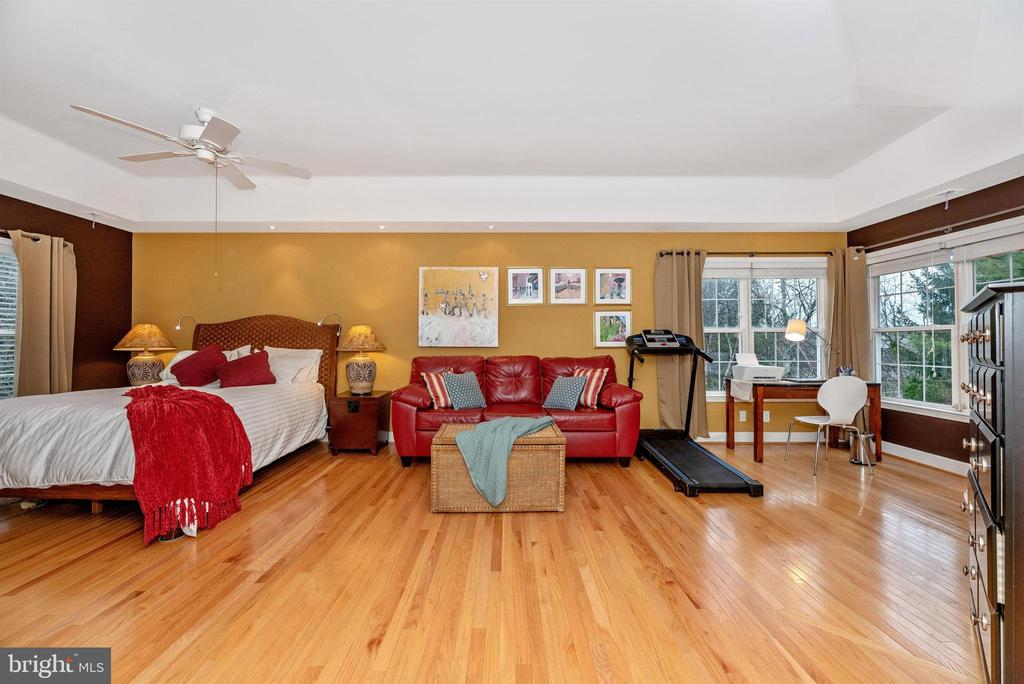 Incredibly spacious master suite and sitting room. - 6287 IVERSON TER S, FREDERICK