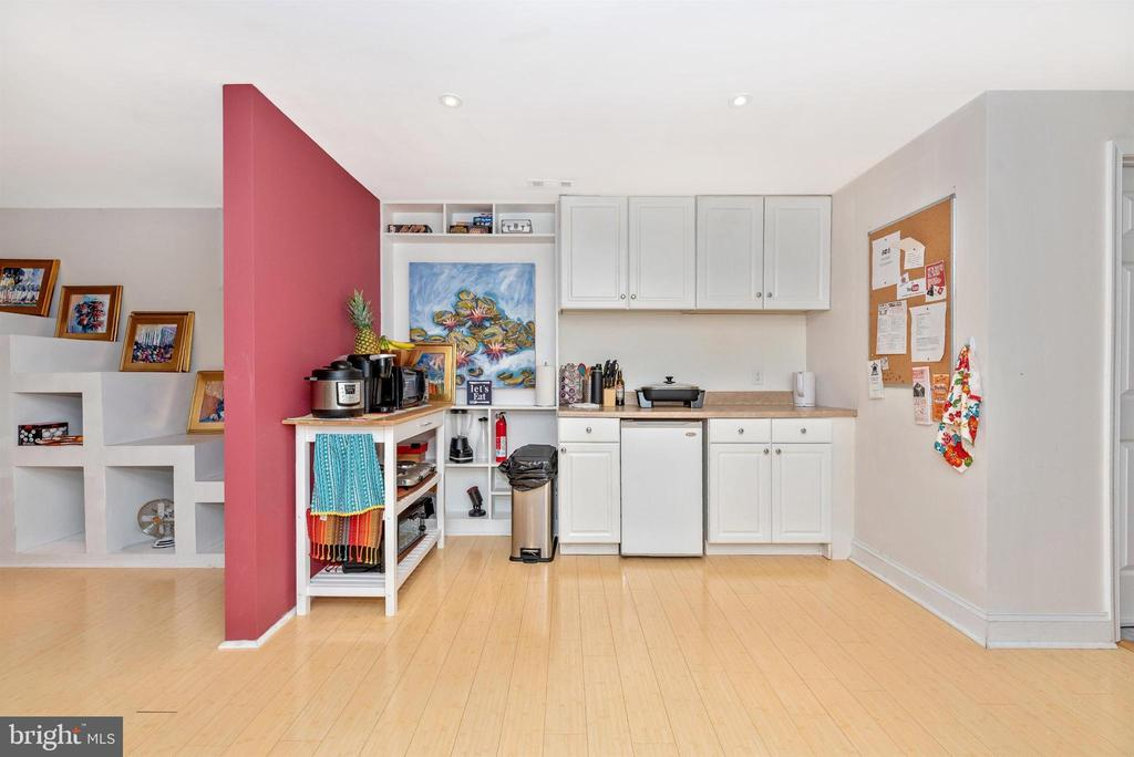 Lower level - accessory kitchenette. - 6287 IVERSON TER S, FREDERICK