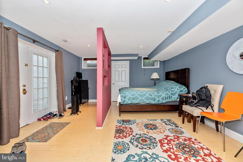Lower level bedroom with private entrance. - 6287 IVERSON TER S, FREDERICK
