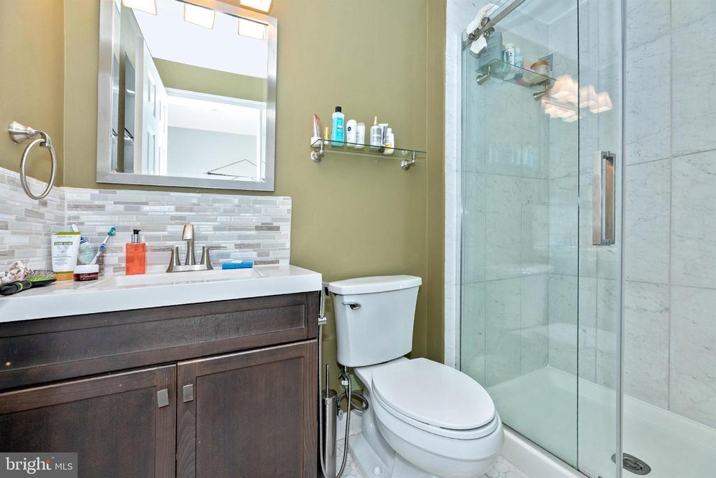 Lower level full bath. - 6287 IVERSON TER S, FREDERICK