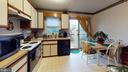 Eat-in kitchen with walk out to private deck - 107 W O ST, PURCELLVILLE