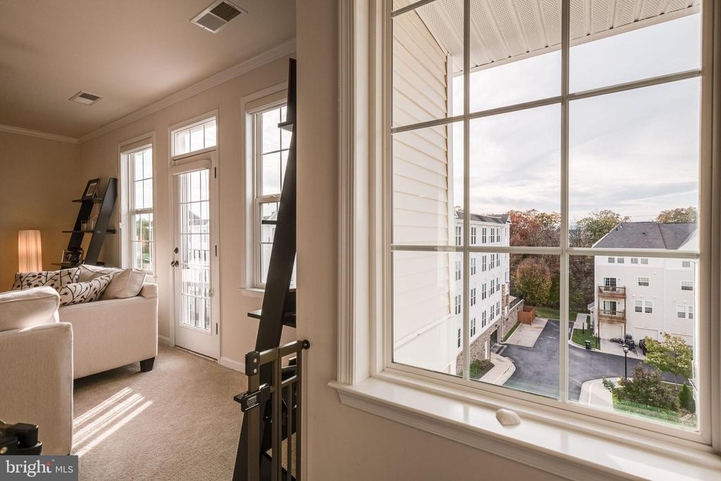 View outside trees & mountains - 24677 LYNETTE SPRINGS TER #302, ALDIE