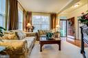 Foyer and Living Room - 5408 BANTRY CT, WOODBRIDGE