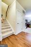Stairs to upper level - 5408 BANTRY CT, WOODBRIDGE