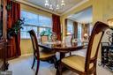 Formal Dining Room - 5408 BANTRY CT, WOODBRIDGE