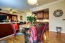 Breakfast Room - 5408 BANTRY CT, WOODBRIDGE