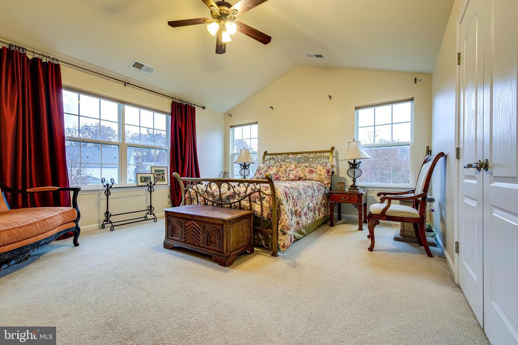 Master Bedroom View - 5408 BANTRY CT, WOODBRIDGE