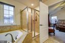 Master Bath - 5408 BANTRY CT, WOODBRIDGE