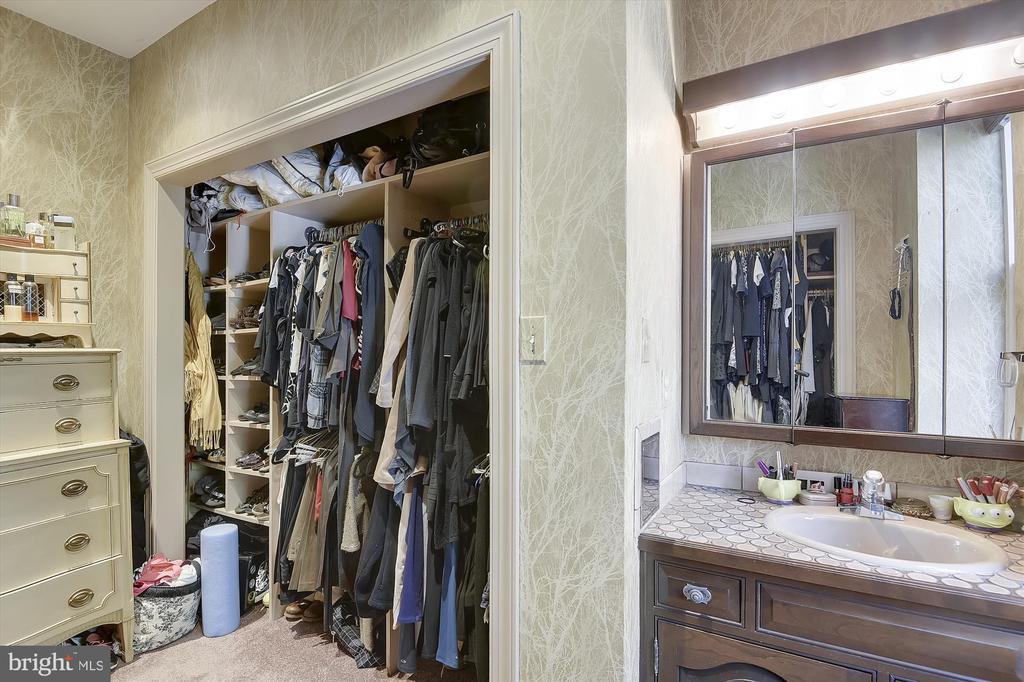 Master bedroom closet - 2034 O ST NW, WASHINGTON