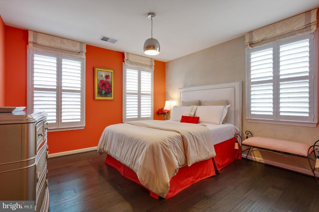 Bedrooms with hardwood flooring - 12377 MAYS QUARTER RD, WOODBRIDGE