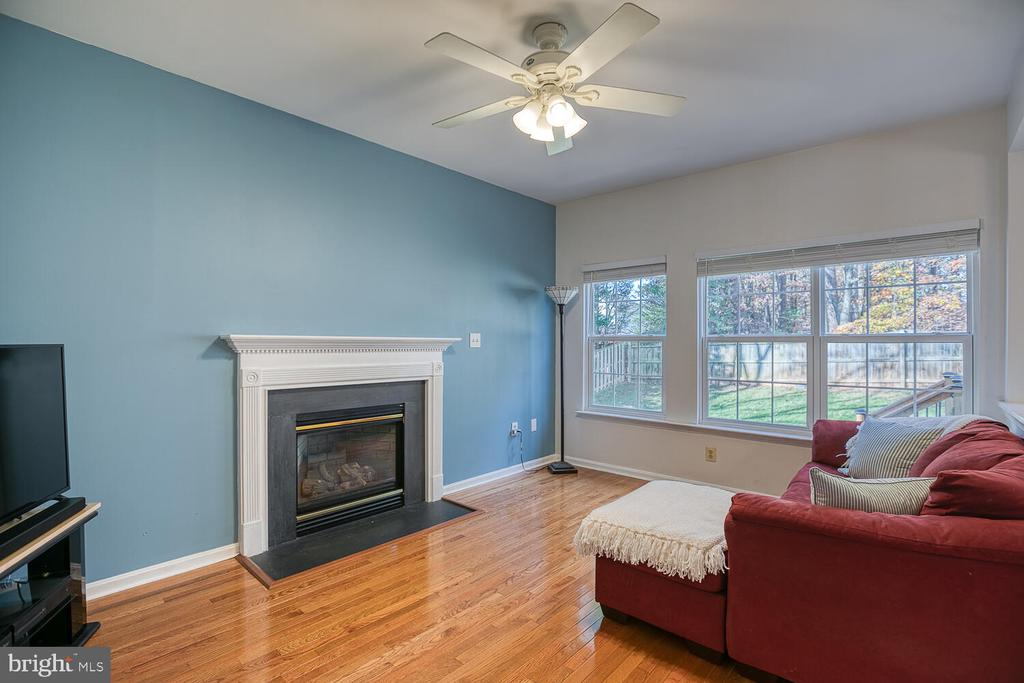 Keep warn with the gas fireplace. - 23 CANDLERIDGE CT, STAFFORD