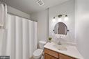 2nd full bathroom (upstairs) - 1573 N VAN DORN ST #B, ALEXANDRIA