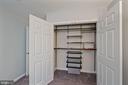 Custom designed closets throughout - 1573 N VAN DORN ST #B, ALEXANDRIA