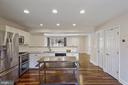 Gourmet kitchen - 1573 N VAN DORN ST #B, ALEXANDRIA