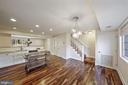 Let's go upstairs (same beautiful wood) - 1573 N VAN DORN ST #B, ALEXANDRIA