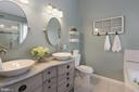 Custom double vanity w/ bowl sinks *swivel mirrors - 43669 SCARLET SQ, CHANTILLY