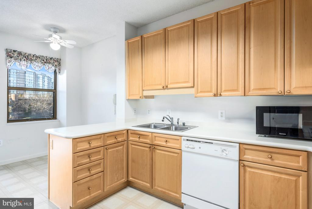 Eat in kitchen with lots of counter space - 19370 MAGNOLIA GROVE SQ #208, LEESBURG