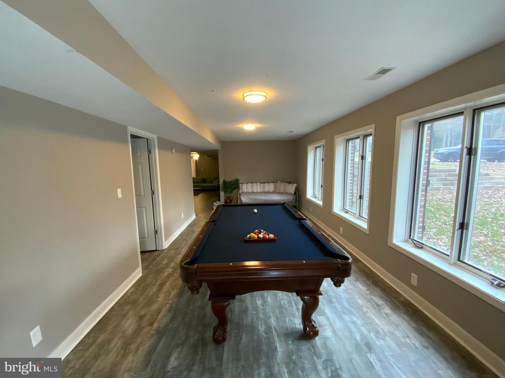 Lower Level Game Room - 6406 CARTER LN, MINERAL