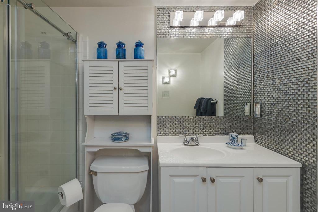 *Private owner's bath - 3031 BORGE ST #212, OAKTON