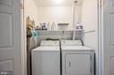 Upper Level Laundry - 5040 CANNON BLUFF DR, WOODBRIDGE