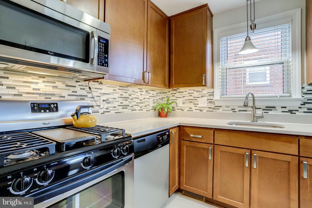 Recently remodeled kitchen - 501 S VEITCH ST, ARLINGTON