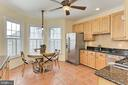 Spacious, gourmet, eat-in Kitchen. - 47525 SAULTY DR, STERLING