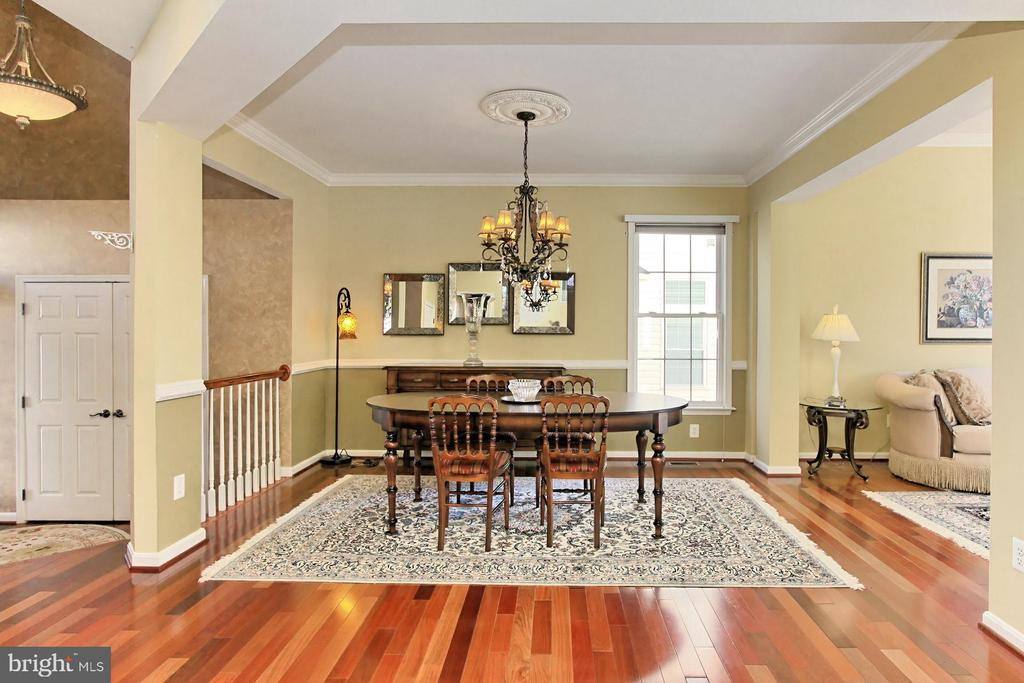 Gorgeous Brazilian cherry wood floors! - 47525 SAULTY DR, STERLING