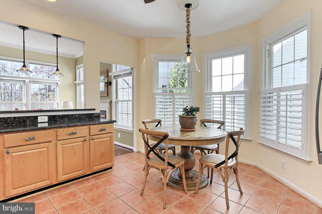 Enjoy a leisurely Sunday morning breakfast here! - 47525 SAULTY DR, STERLING