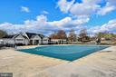 Community pool is steps away! - 25811 MEWS TER, CHANTILLY