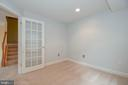 Lower level office or bedroom 4 - 25811 MEWS TER, CHANTILLY