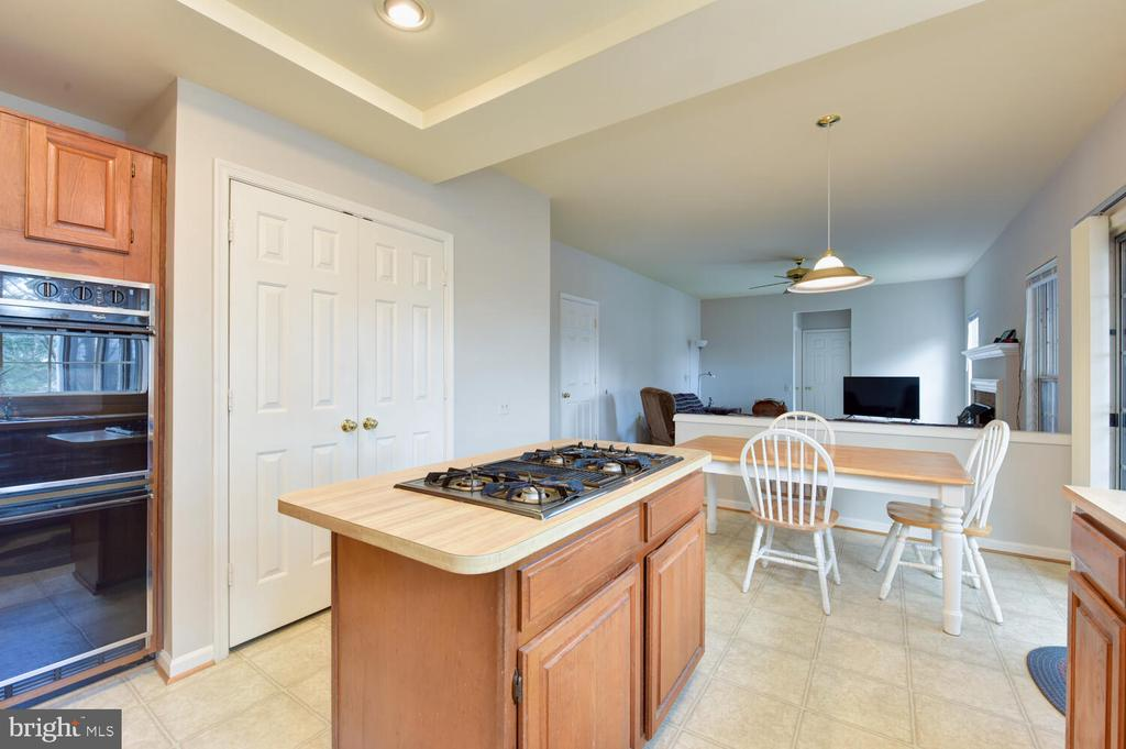 Wall oven, center island, large pantry - 1334 CASSIA ST, HERNDON
