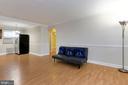 Living room  - dining room - 5318 8TH RD S #6, ARLINGTON
