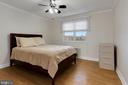 Master bedroom - 5318 8TH RD S #6, ARLINGTON