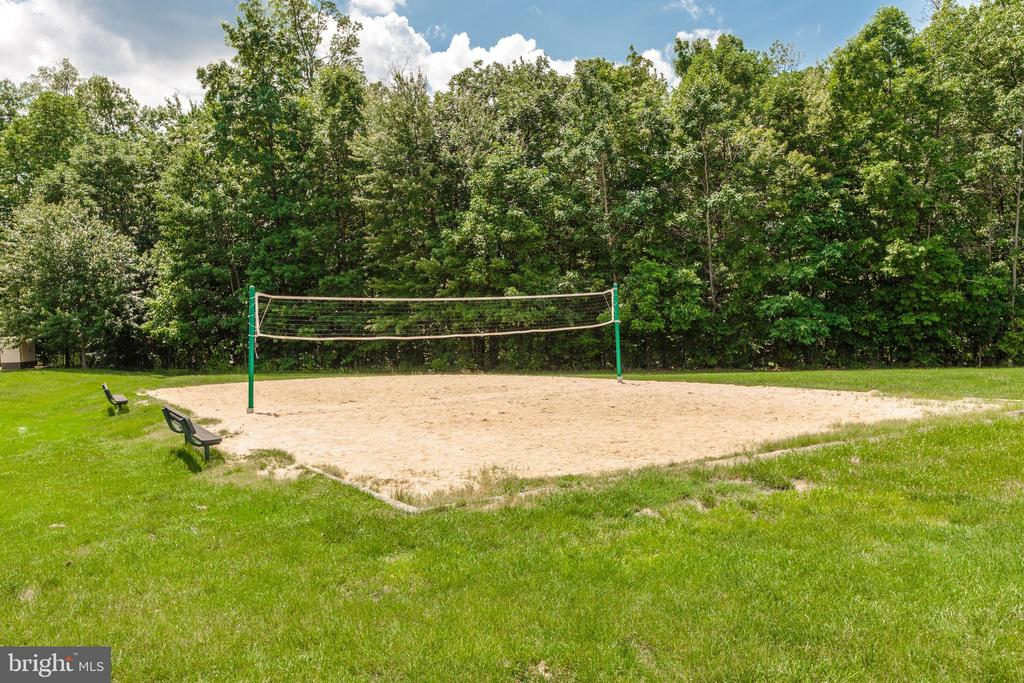 Community Volleyball Court - 43224 SOMERSET HILLS TER, ASHBURN