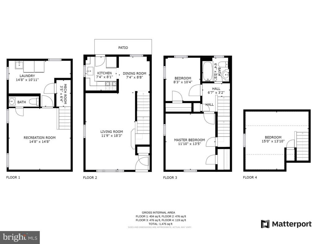 Floor Plans - 501 S VEITCH ST, ARLINGTON