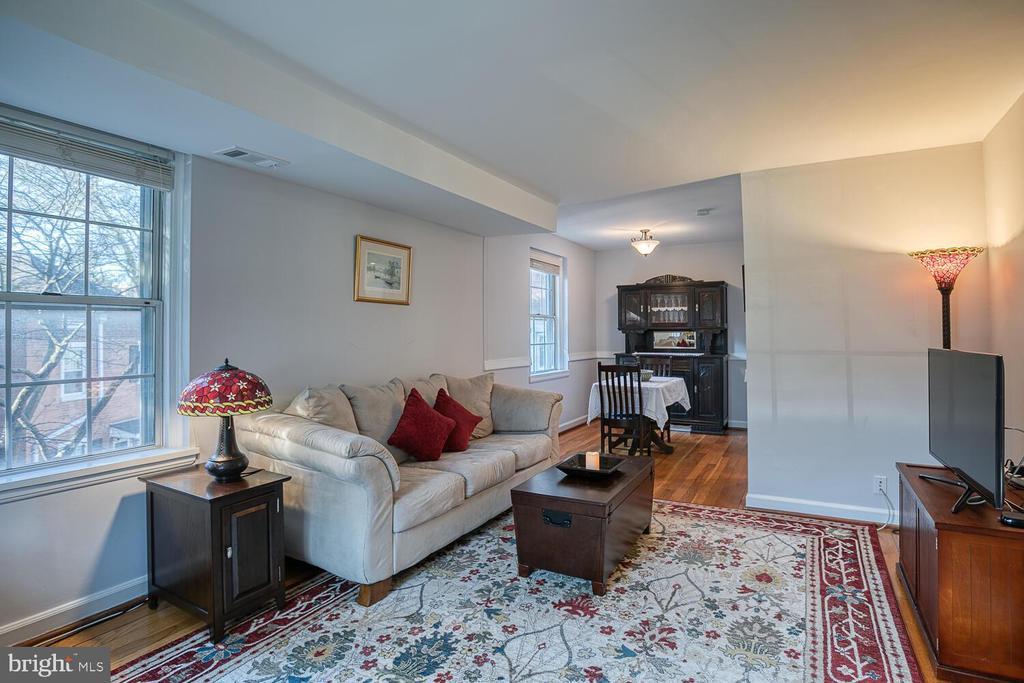 Light-filled Living Room - 2923 S DINWIDDIE ST, ARLINGTON